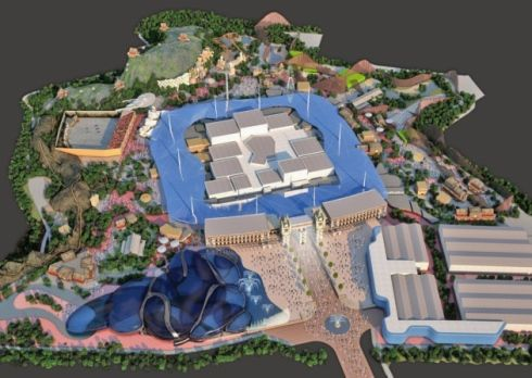 A two billion pound theme park is planned for Kent! Exciting.