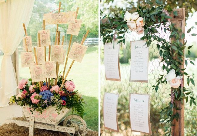 table plan ideas to suit 10 of the most popular wedding themes
