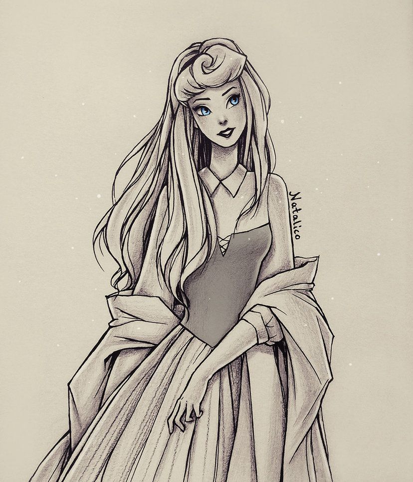 Sleeping Beauty (traditional) by natalico.deviantart.com ...