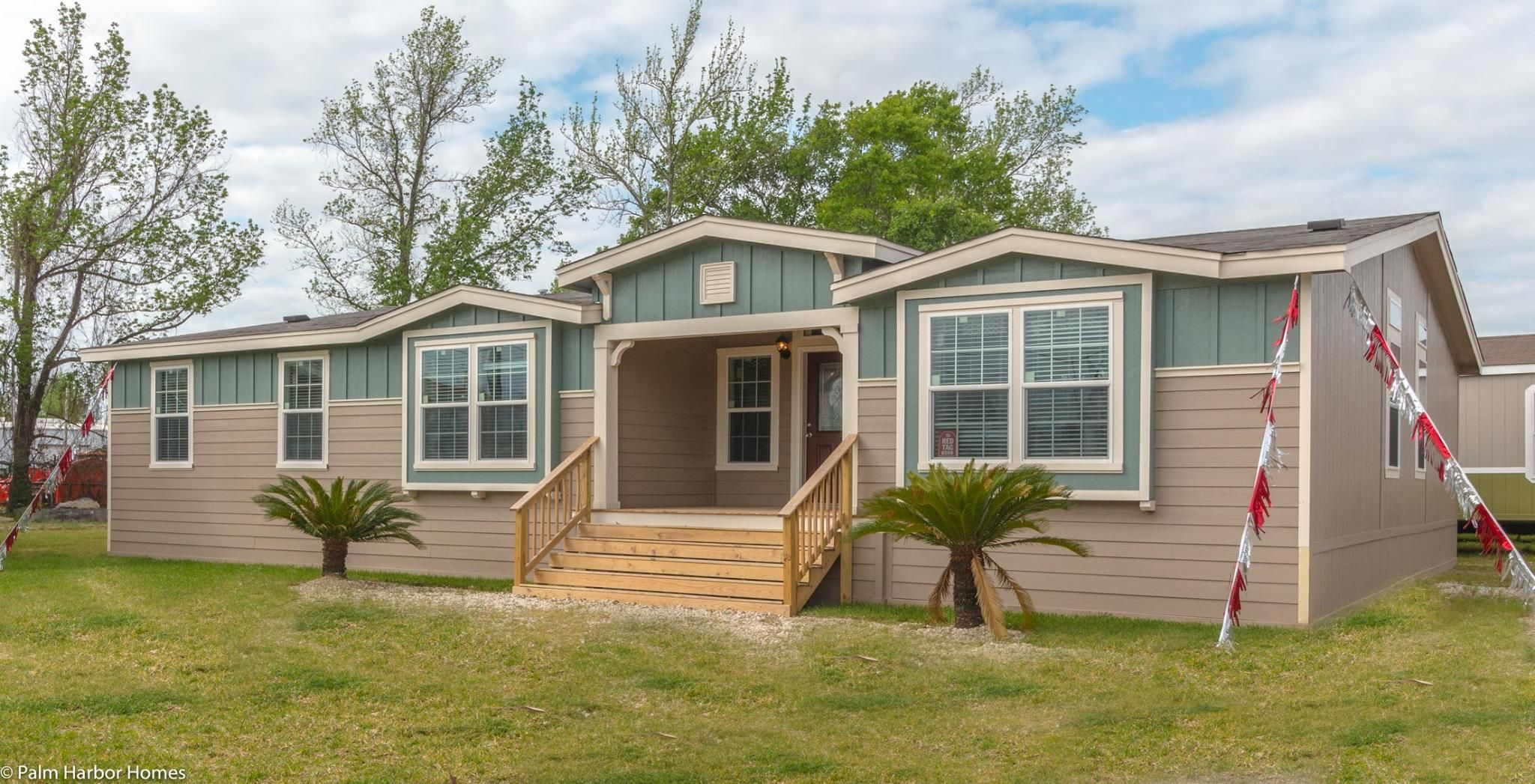 Housing Mobile Modular Palm Harbor Home Doublewide Model