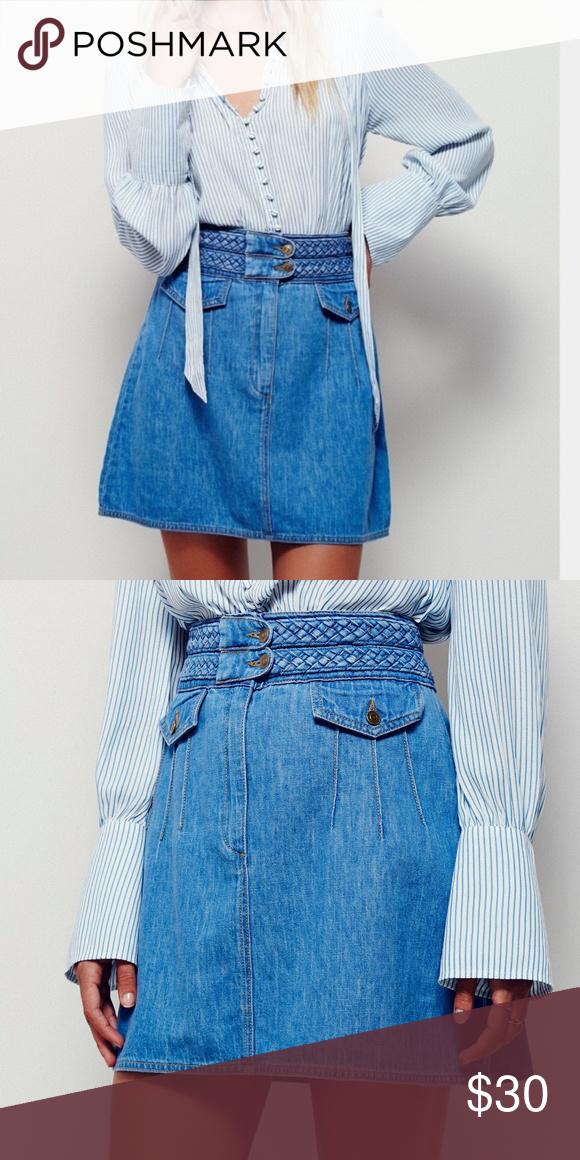 Braided Baby Mini Skirt