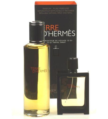 Set Terre D Hermes Parfum Rezerva Parfum 30 Ml Rezerva Parfum 125