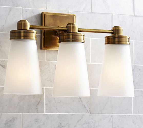 Bathroom Light Fixtures & Vanity Lights Pottery Barn in