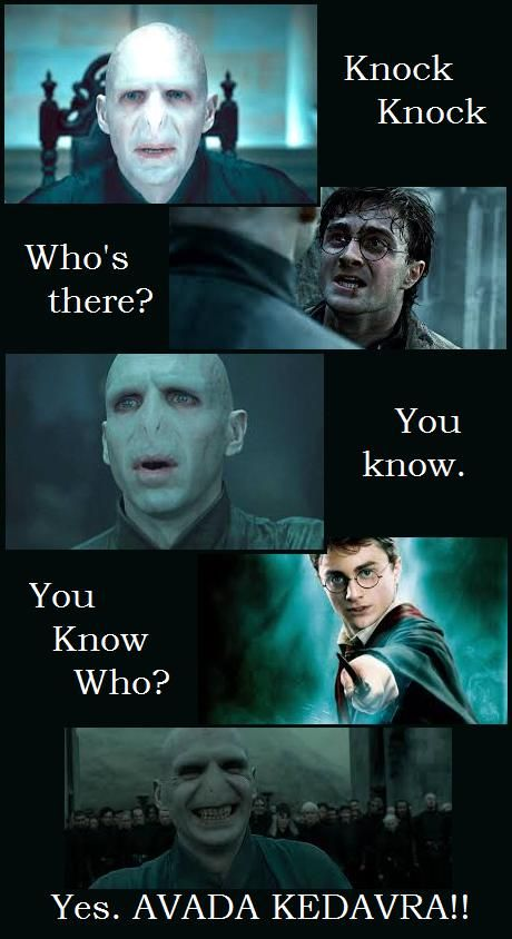My favorite knock knock joke ever  | Hogwarts | Harry potter