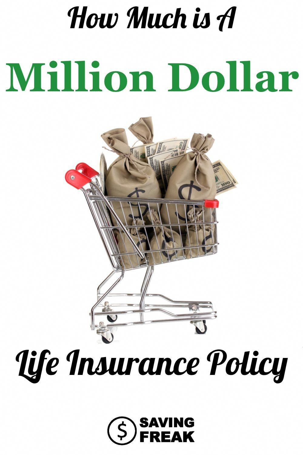 How Much Does A One Million Dollar Life Insurance Policy Cost