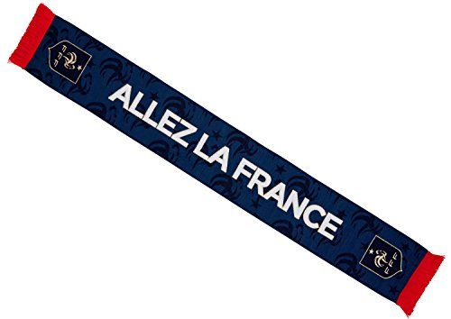 59b084e700a8 Equipe de FRANCE de football Echarpe FFF - Collection Officielle Taille 140  cm