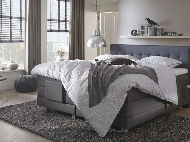 Slaapkamer Met Boxspring : Slaapkamer boxspring grijs google zoeken slaapkamer bedroom
