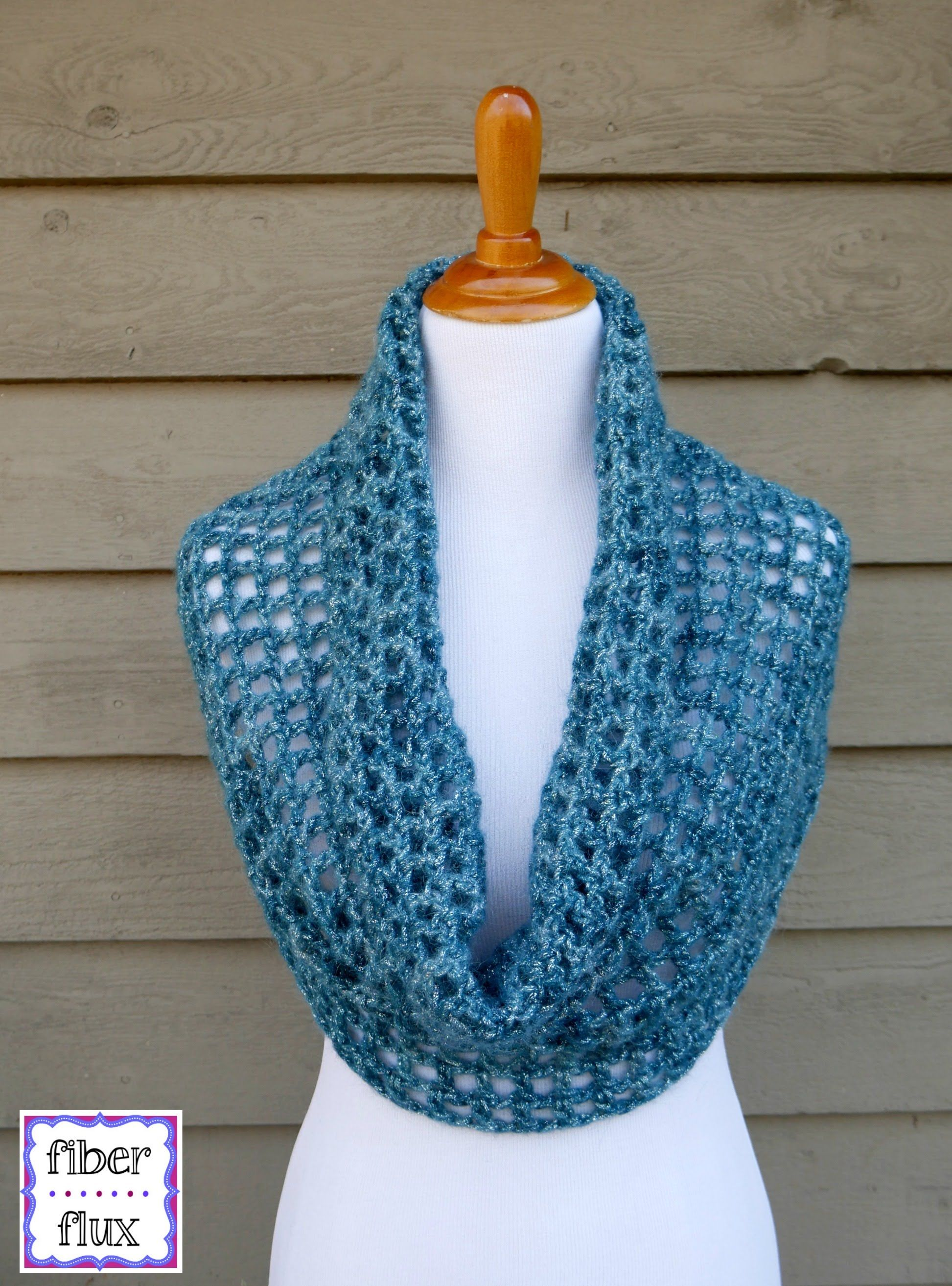How To Crochet the Ocean Shimmer Capelet Cowl, Episode 295 ...