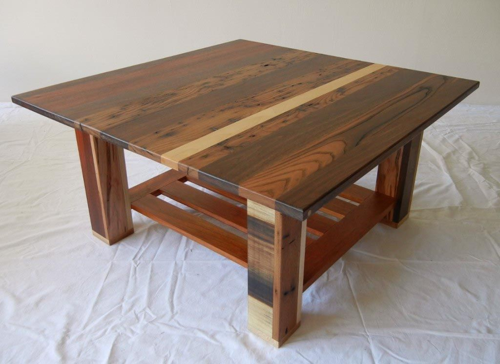 Exceptionnel Solid Maple Coffee Table