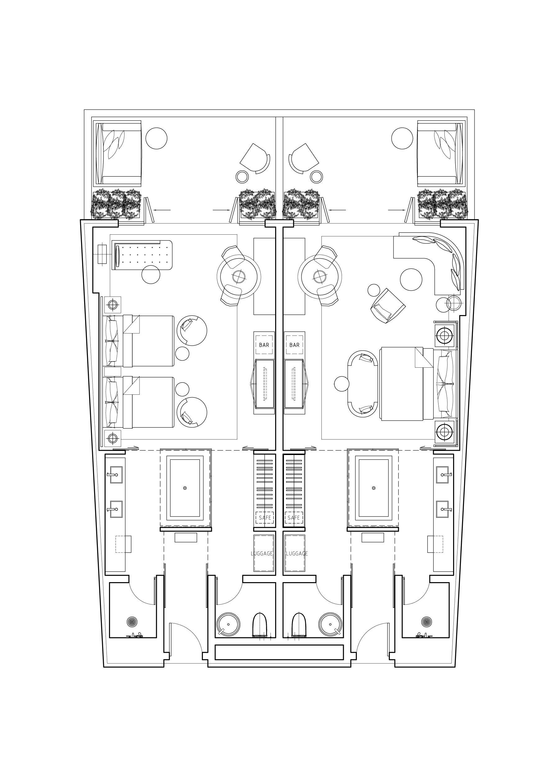 Hotel Room Plan: Hotel Plan, Hotel Floor Plan, Hotel Room Plan