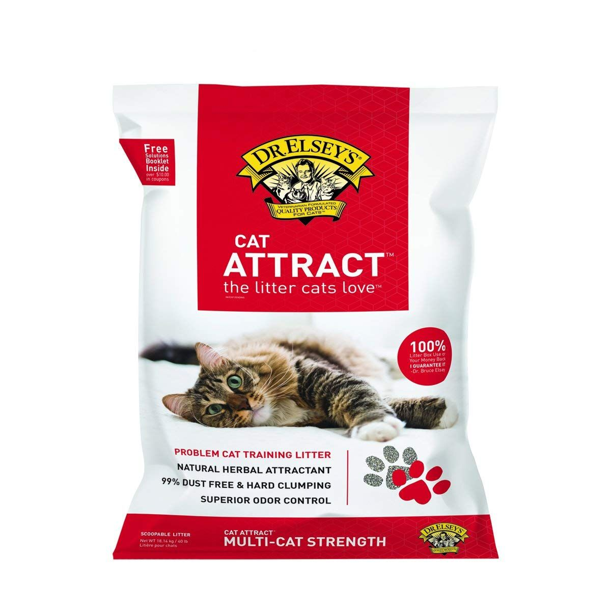 Dr elseys cat attract problem cat training litter