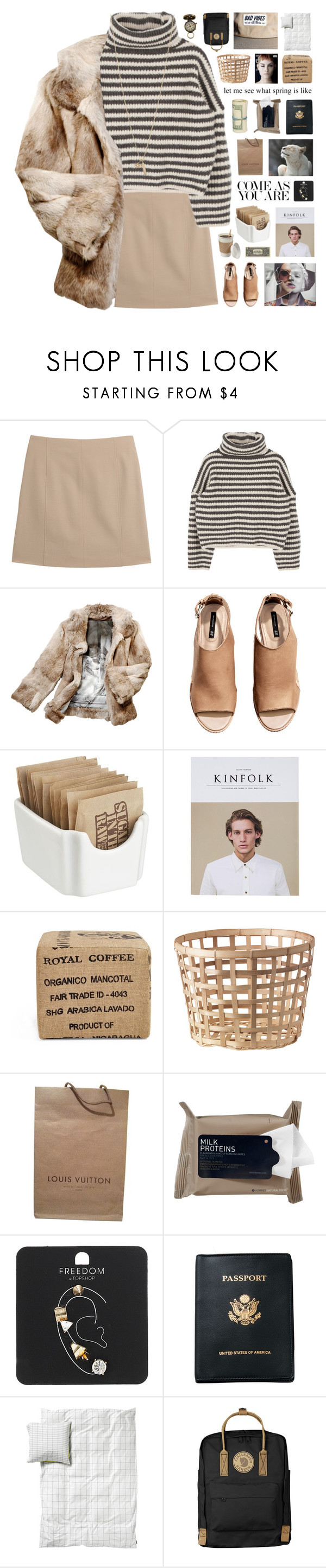 """Chişinău // tag"" by nanarachel ❤ liked on Polyvore featuring Maison Margiela, Anya Hindmarch, Kenzie, H&M, Crate and Barrel, Gus* Modern, Louis Vuitton, Korres, Topshop and Royce Leather"