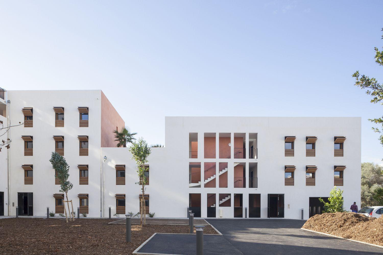 Gallery of 58 Social Housing in Antibes / Atelier PIROLLET ...