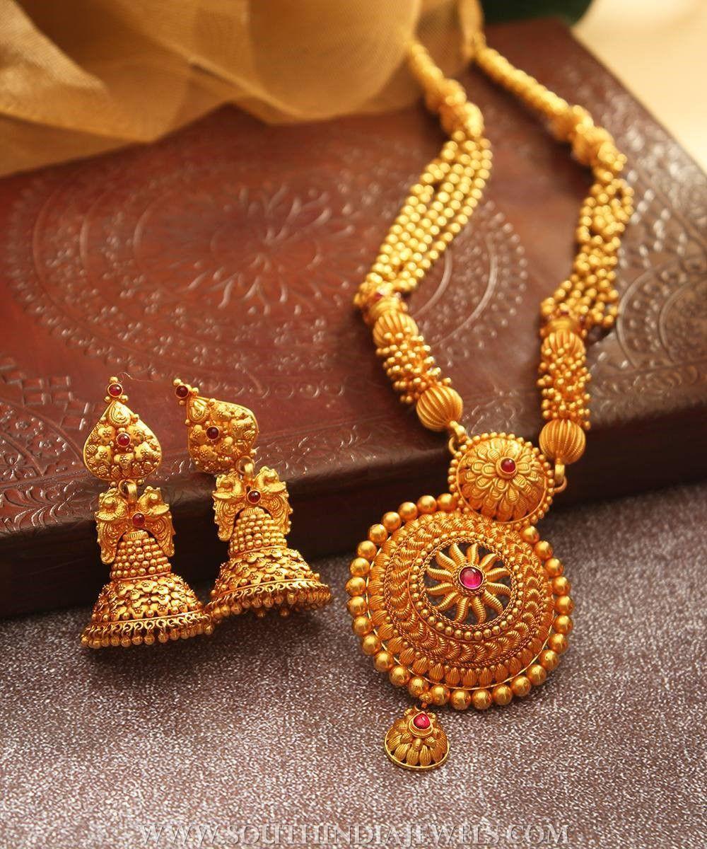 Bridal Haram & Jhumka From Manubhai Jewellers | India jewelry ...