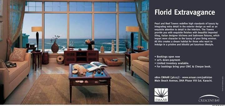 Emaar - Florid Extravagance Print Ad 2014 - BrandSynario