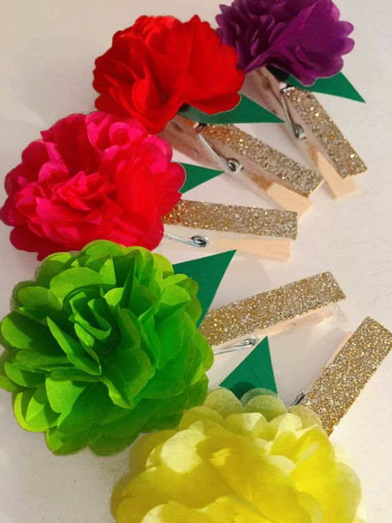 Mexican Glitter Clothespins Baby Shower Bridal Shower Games Wedding  Reception Escort Card Holders Ph 64d5787f9f74