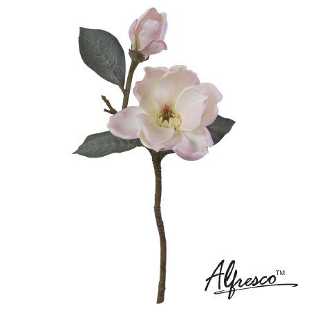 17alfresco decorative artificial flower pink magnolia artificial 17alfresco decorative artificial flower pink magnolia mightylinksfo Choice Image
