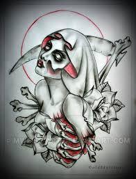 Resultado De Imagen De Santa Muerte Design Tattoo Designs Aztec Tattoo Designs Doodle Tattoo