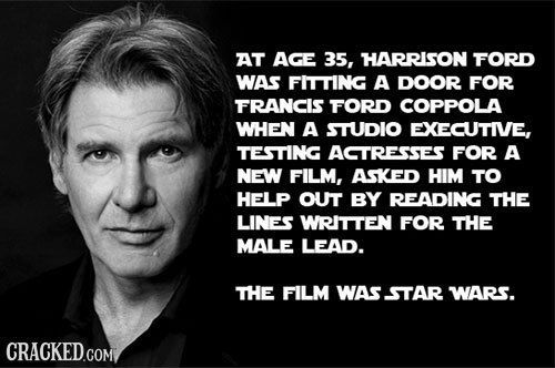 33 Facts About Famous People You Won T Believe Are True Facts Star Wars Fans Star Wars