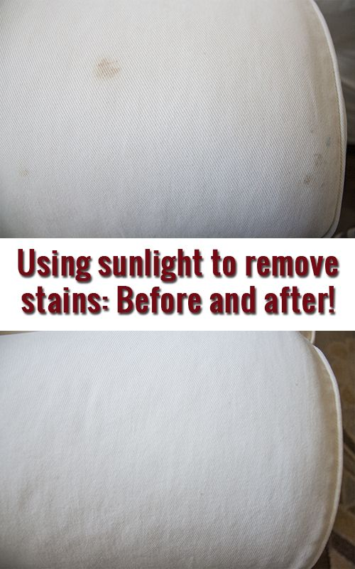 Amazing What A Little Sunshine Can Do To Naturally Take Out Stains So Much Better Than Chemicals Cleaning Hacks Diy Cleaning Products Laundry Hacks