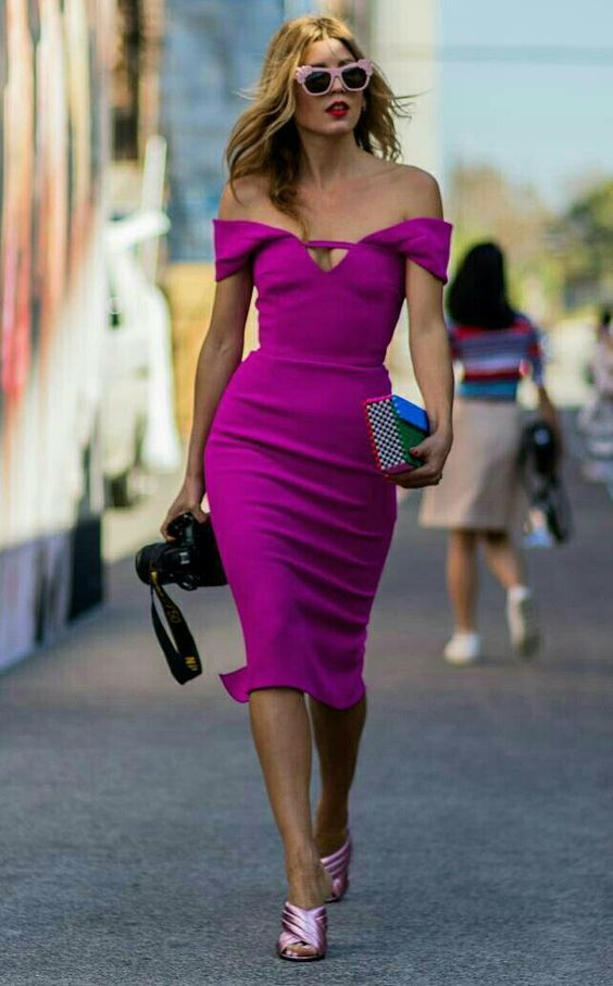 Como Usar Roupas Rosa sem Ficar Caricata | Vestiditos, Femenino y ...