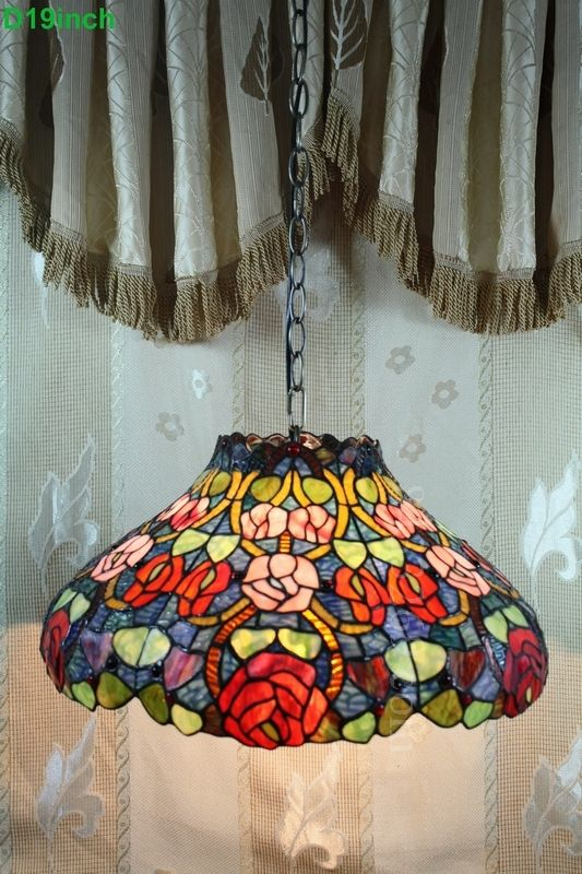 Rose Tiffany Lamp 19S0-247P11
