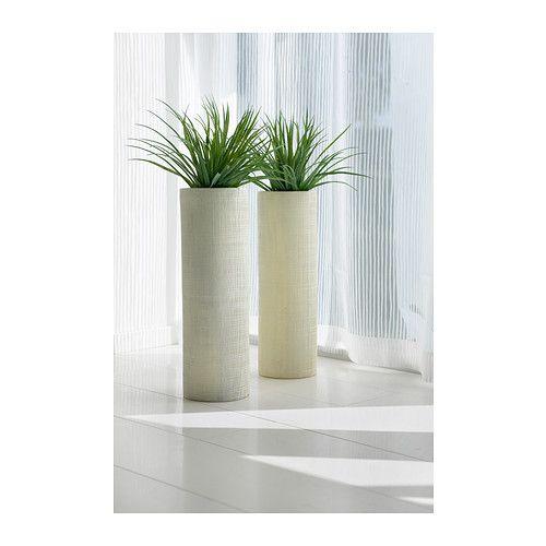 Tall Vase 14 99 Moxiethrift On Etsy Villarreal Large Floor Vases