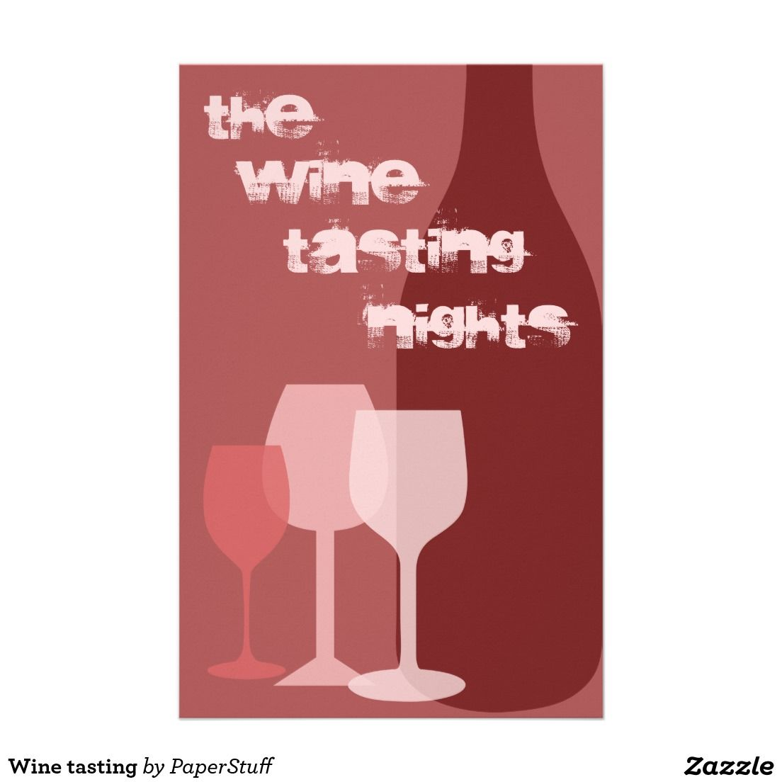 Wine Tasting Flyer Zazzle Com Wine Tasting Wine Flyer
