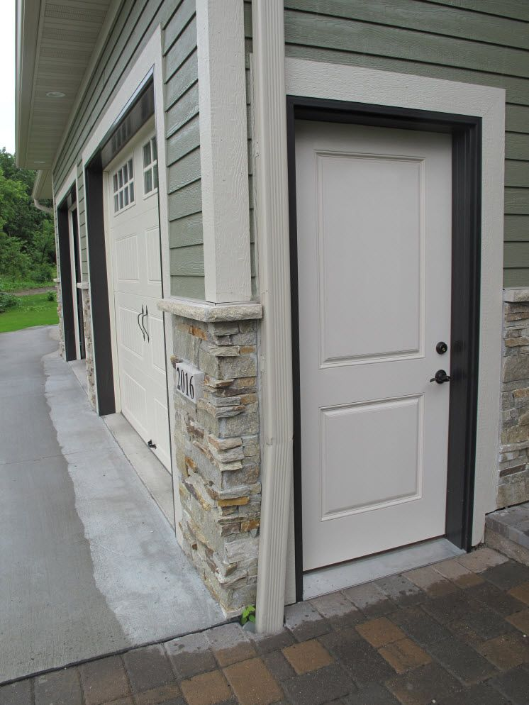 Exterior Doors | Smooth Fiberglass Two Panel Garage Door Will Barely Ever  Dent Compared To Steel