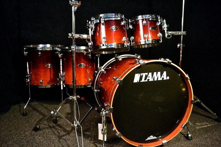 Used Tama Starclassic 5pc Dark Cherry Fade | Drums in 2019