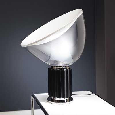 Lampe de table taccia base noire flos pinterest kitchen lampe de table taccia base noire flos aloadofball Images