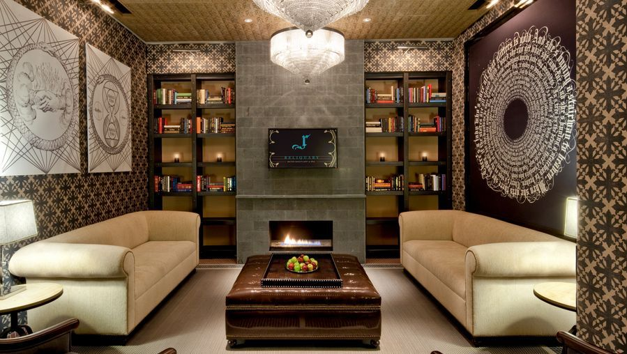 BMen's Lounge at the RELIQUARY Spa at Hard Rock Hotel and Casino via USATODAY.com
