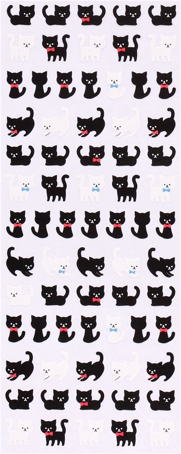 cat city house stickers from Japan Crux 4
