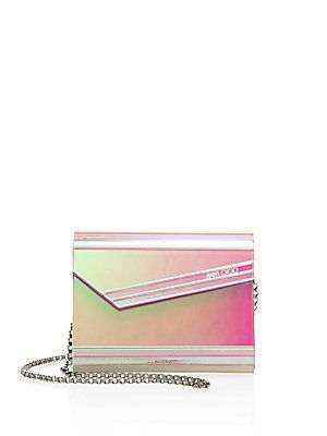 f165156061d7 Jimmy Choo Candy Holographic Acrylic Clutch - Color - Size No Size ...