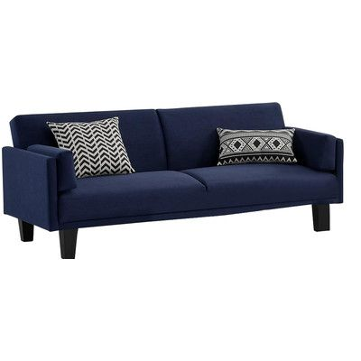 Dhp Metro Futon Sofa Bed Reviews Wayfair