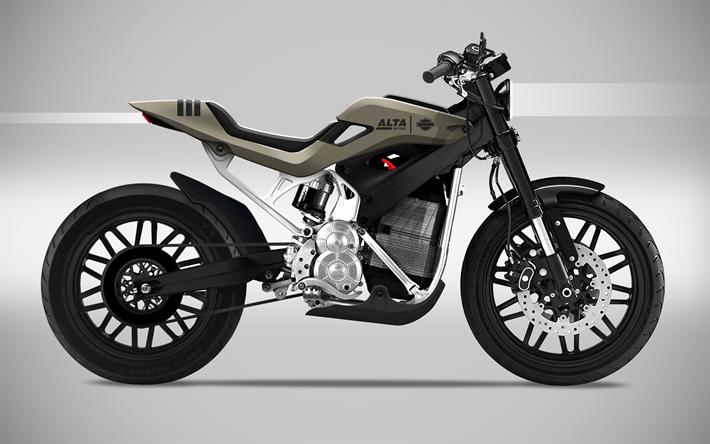 Wallpapers Alta Motors Redshift Mx Electric 2018 Bikes