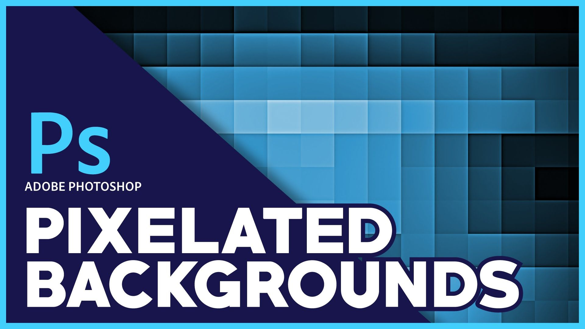 Adobe Photoshop | Pixelated Background Tutorial | Pixelation