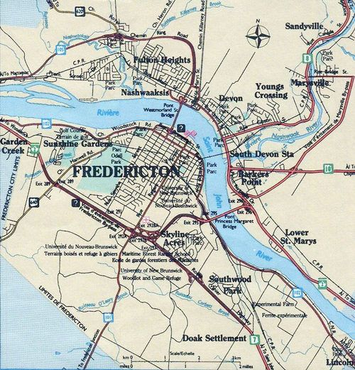 Fredericton Canada pop 56224 is the capital of the Canadian