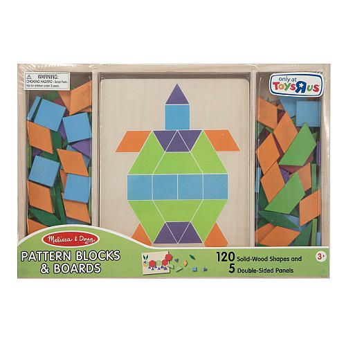 Melissa Doug Pattern Blocks And Boards Melissa Doug Toys