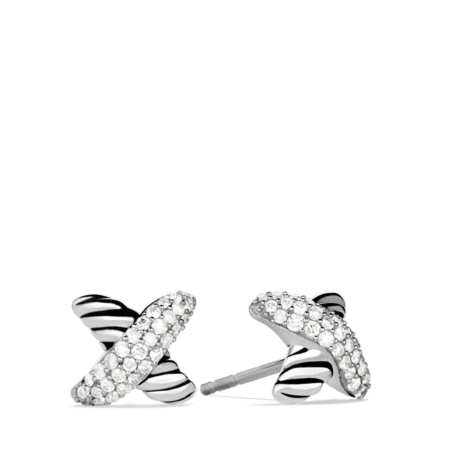 X earrings with diamonds jewelry pinterest diamond david