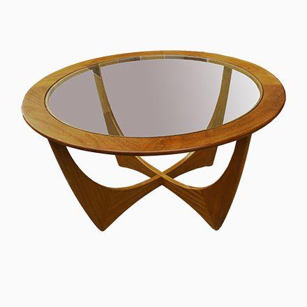 Runder Vintage Astro Teak Tisch von Victor Wilkins für G Plan - tisch für wohnzimmer