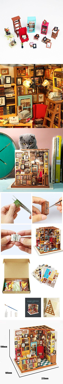 Rolife DIY Miniature Room SetWoodcraft Construction Kit
