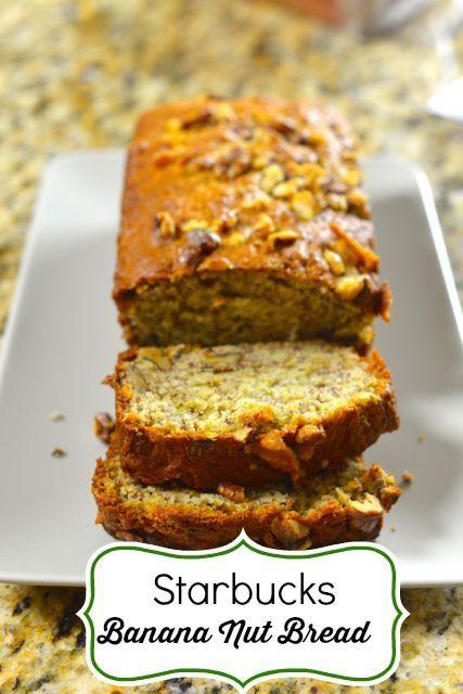 Starbucks Walnut Banana Bread Recipe Banana Walnut Bread Banana Nut Bread Banana Bread Recipes