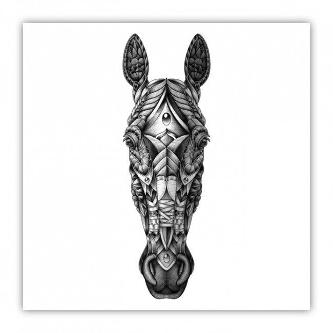 geometric horse head - Sök på Google