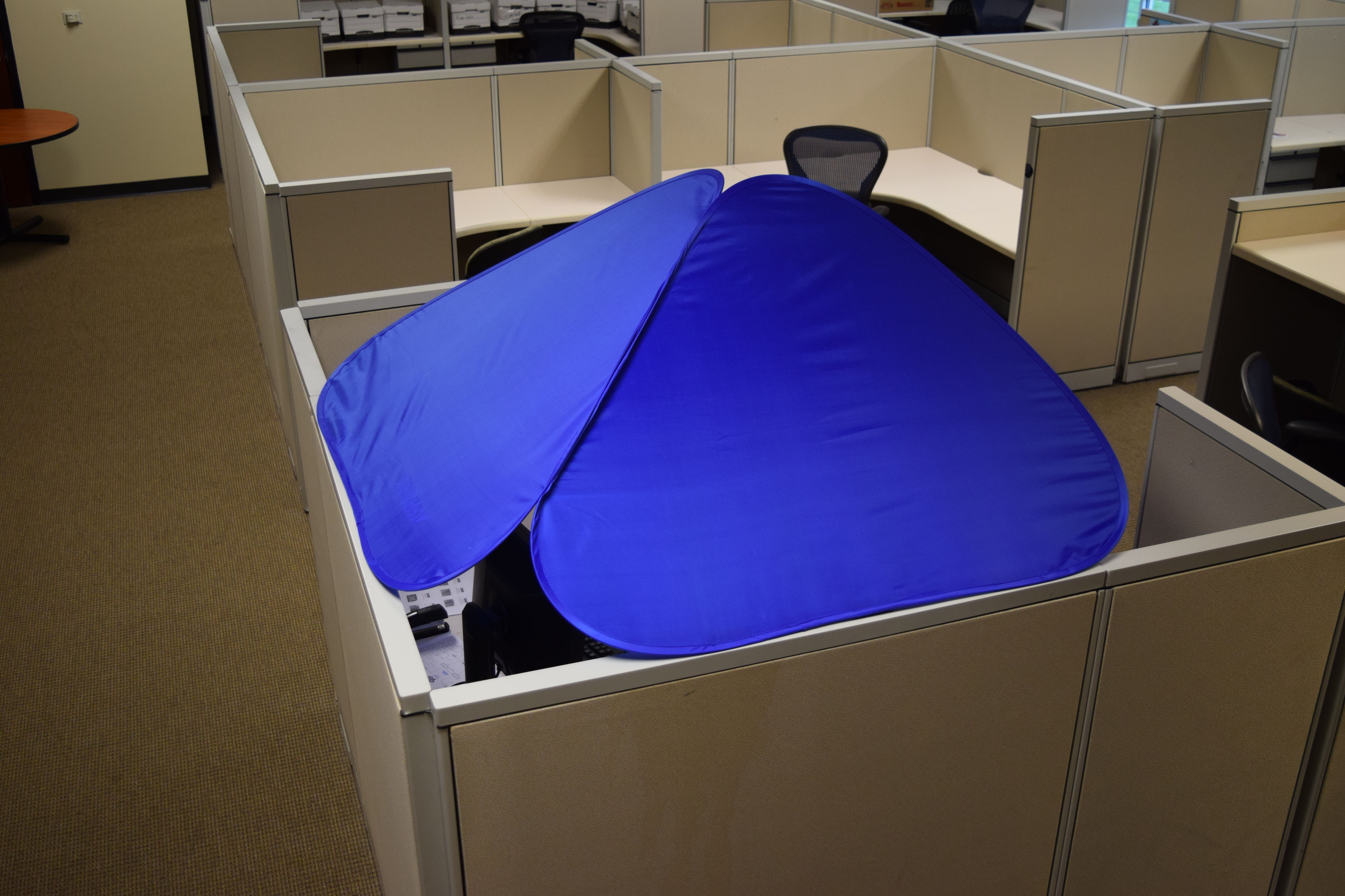 Cubeshield Cube Roof For Your Office Cubicle Office Cubicle Cubicle Canopy Outdoor
