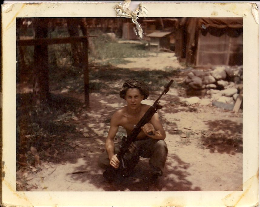 Lrrp with M14E2 which was the full auto version, many in the 1st ID Lrrps used this weapon system