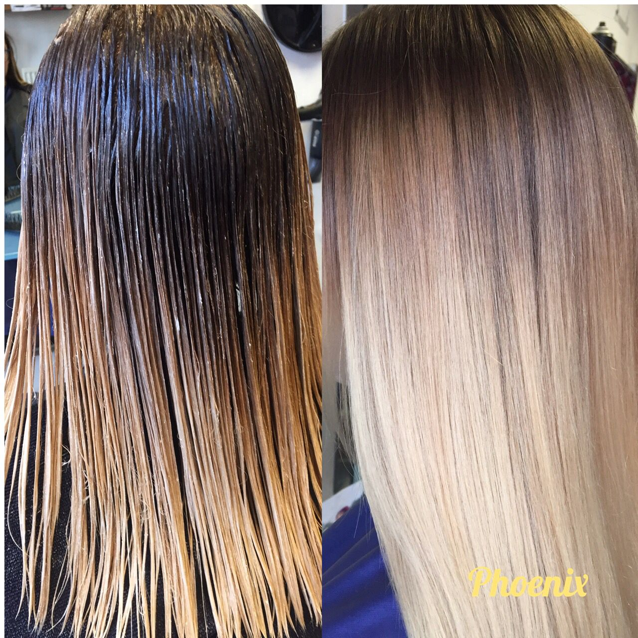 Colour Melt Shadow Root Root Stretch Hair Colour Hair