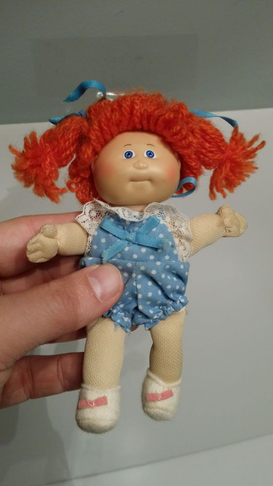 Vintage 1980 S Cabbage Patch 3 5 Inch Mini Doll Cabbage Patch Dolls Cabbage Patch Babies Cabbage Patch Kids Dolls