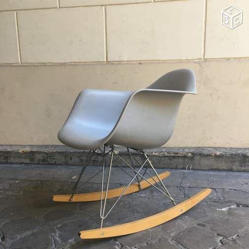 Fauteuil Bascule Vitra Eames Rar Design 50 | Mobilier | Pinterest