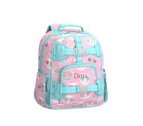 Mackenzie Pink Sun Cat Backpack Pottery Barn Kids Baby